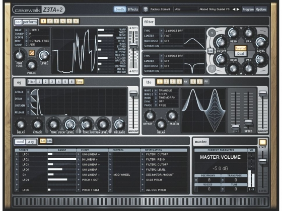 Cakewalk Z3TA+ 2 v2.2.0.95 WiN X86 X64 Patched