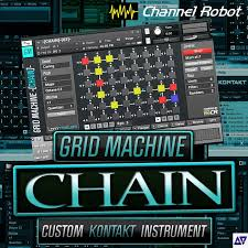 Channel Robot Grid Machine Chain KONTAKT DVDR