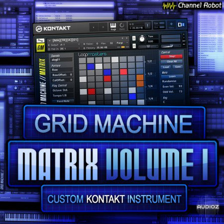 Channel Robot Grid Machine Matrix Vol 1 KONTAKT