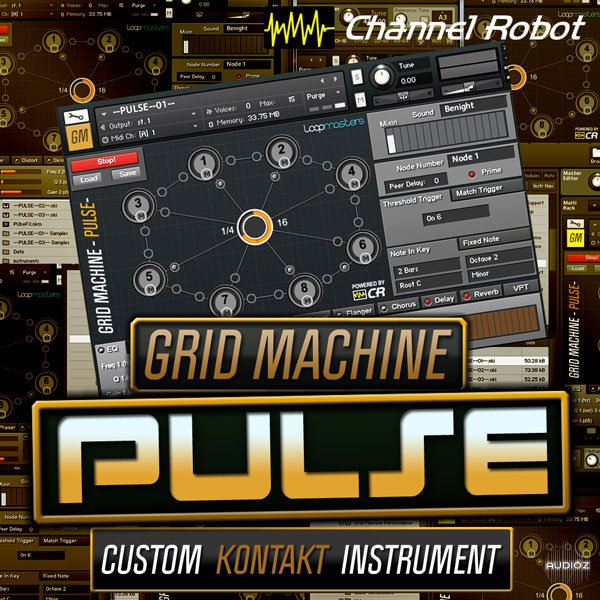 Channel Robot Grid Machine Pulse KONTAKT DVDR-DYNAMiCS