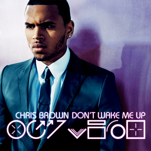 Chris Brown – Don't Wake Me Up (Studio Acapella)