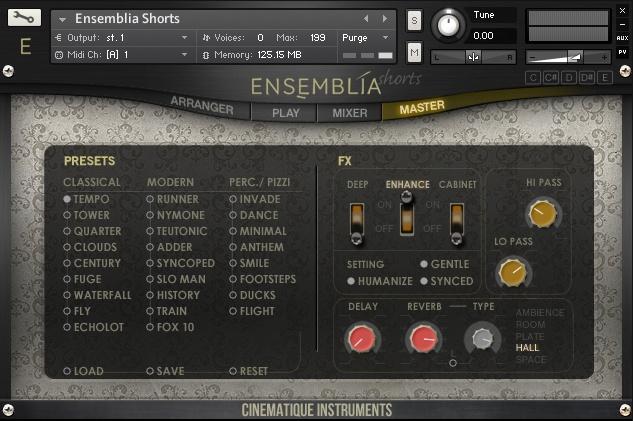 Cinematique Instruments Ensemblia v1.5 KONTAKT