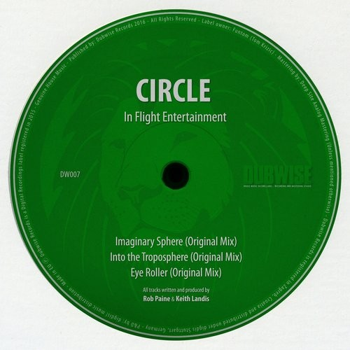 Circle – In Flight Entertainment [DUBWISE007]