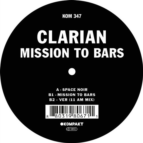 Clarian – Mission to Bars [KOMPAKT347]