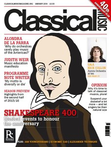 Classical Music January 2016