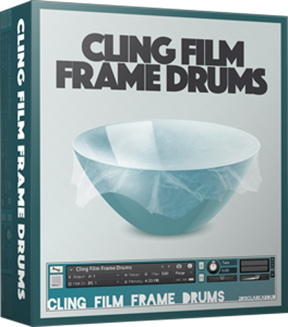 Cling Film Frame Drums KONTAKT