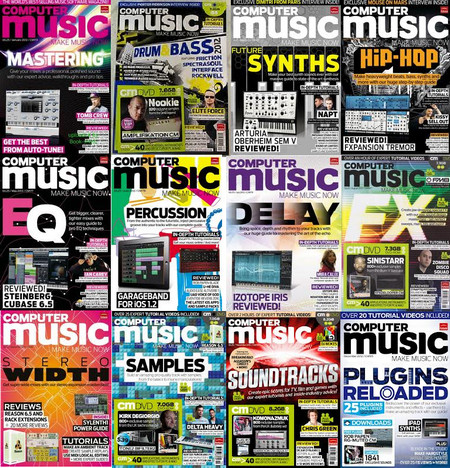 Computer Music Magazine 2012 Full Collection