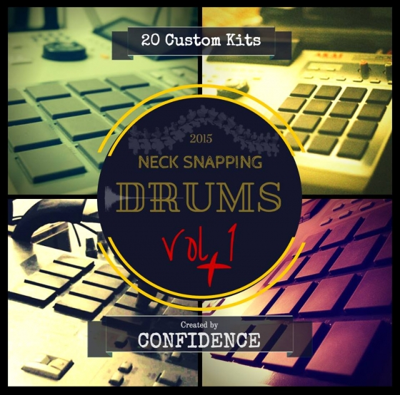 Confidence Beats Neck Snapping Drums Vol.1 WAV