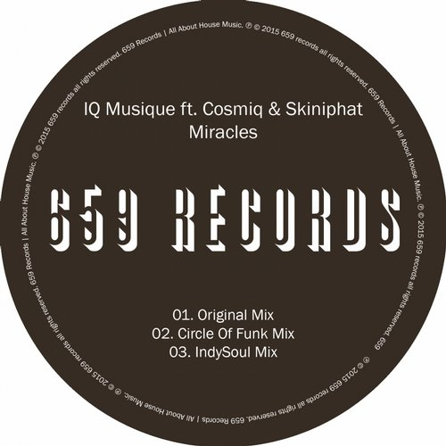 Cosmiq, IQ Musique, Skiniphat - Miracles [SFN060]