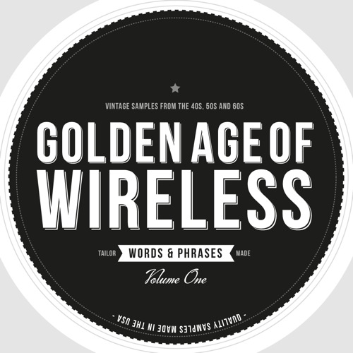 Crate Diggers Golden Age of Wireless Words and Phrases Vol.1 ACID WAV