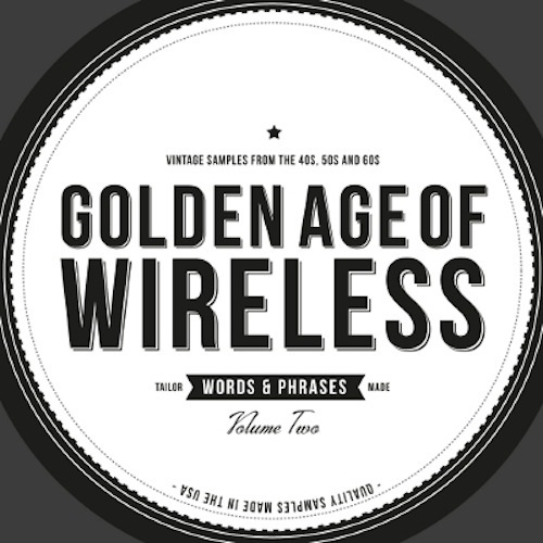 Crate Diggers Golden Age of Wireless Words and Phrases Vol.2 ACID WAV