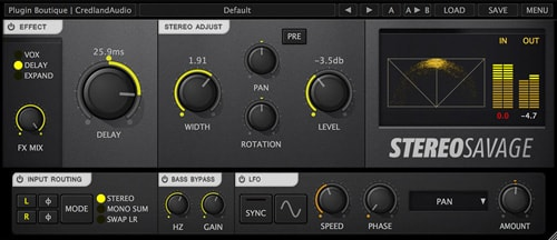 Credland Audio Stereo Savage v1.2.1 WiN and OSX Incl Patch and Keygen-R2R