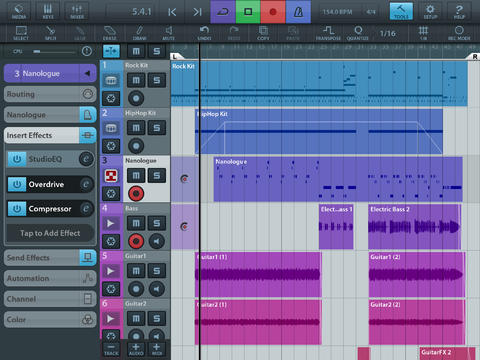 Cubasis Music Production System Steinberg v1.9.6 iPad iOS-Deep3r