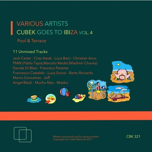 VA -  Cubek Goes To Ibiza Vol 4 (Terrace and Pool) [CBK321]