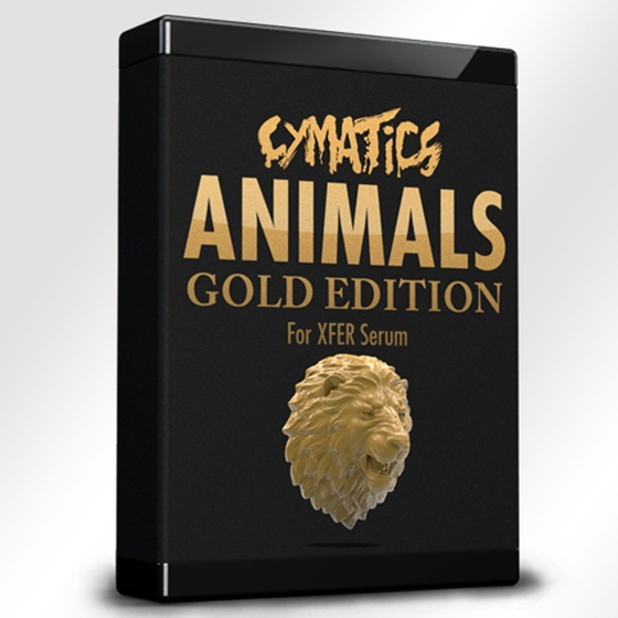 Cymatics Animals for Serum Gold Edition WAV SHP FXP Ableton Project