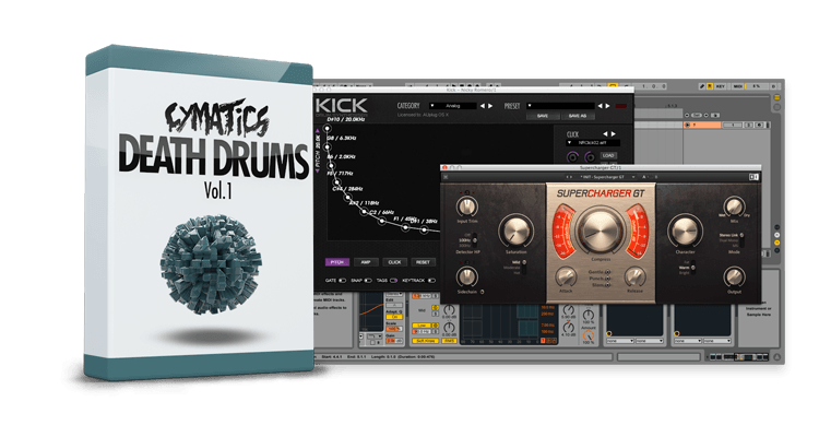 Cymatics Death Drums Vol 1 WAV-DISCOVER