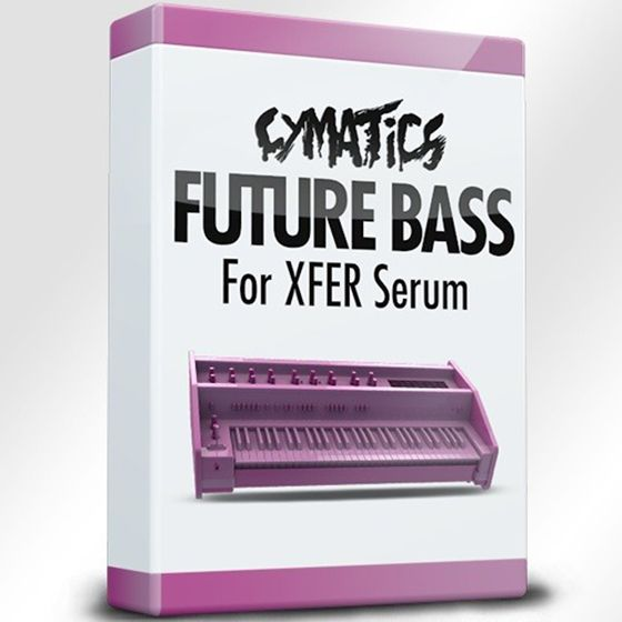 Cymatics Future Bass For XFER Serum WAV MIDI FXP Ableton Project