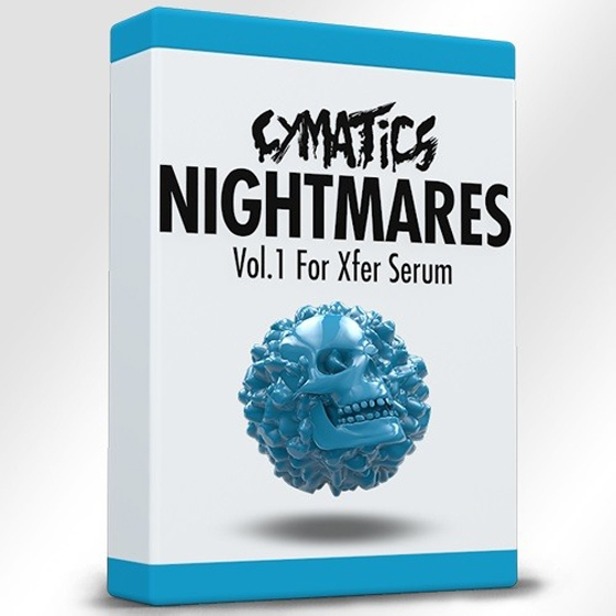 Cymatics Nightmares Vol 1 for XFER Serum With Bonuses WAV SERUM