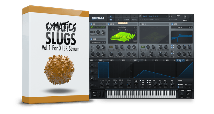 Cymatics Slugs Vol 1 For XFER RECORDS SERUM FXP-DISCOVER