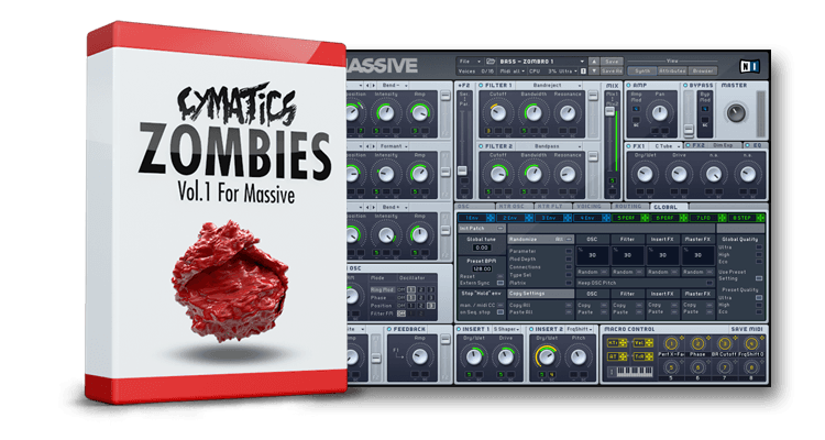 Cymatics Zombies Vol 1 For Ni MASSSiVE NMSV-DISCOVER