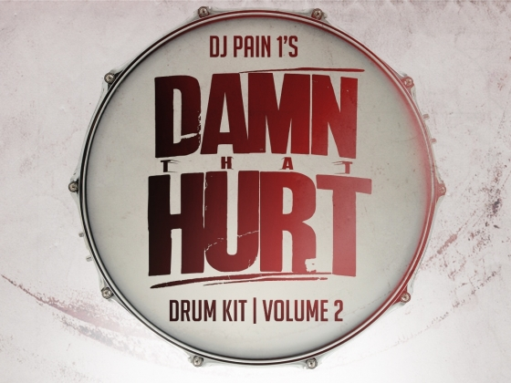 DJ Pain 1 Damn That Hurt Drum Kit Vol. 2 WAV