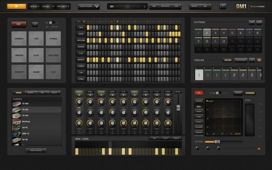 DM1 The Drum Machine 2.1.1 Mac OS X