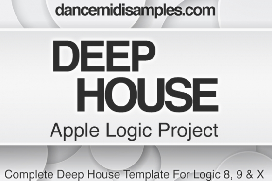 Dance Midi Samples Deep House For Logic Vol.1