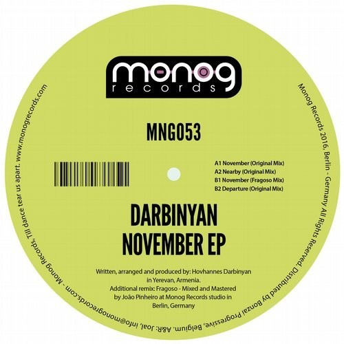 Darbinyan - November [MNG053]