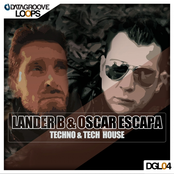 Datagroove Loops Lander B and Oscar Escapa Techno and Tech House WAV