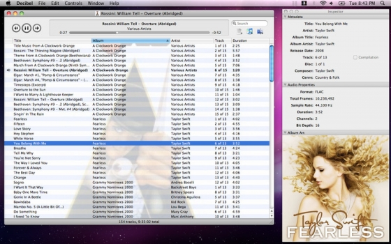 Decibel 1.3.3 Mac OS X