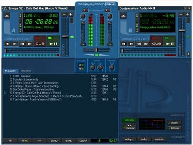 DeejaySystem DJ Audio & Video Mixer 3.5.0