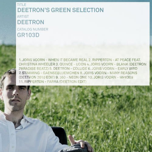 VA - Deetron's Green Selection [GR103D]