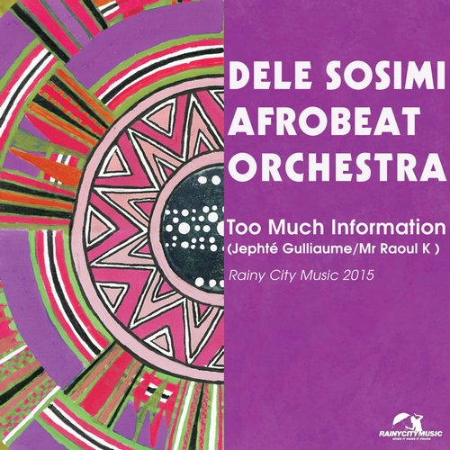 Dele Sosimi Afrobeat Orchestra Jephte Guillaume & Mr Raoul K – Too Much Information (Remixes) [RCM024]