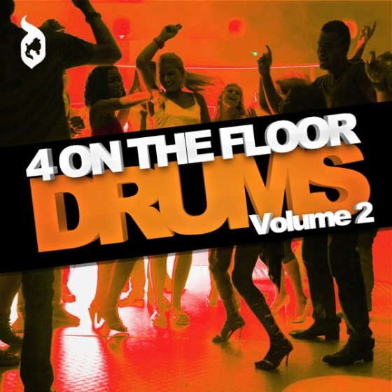 Delectable Records 4 On The Floor Drums Vol.2 WAV AiFF