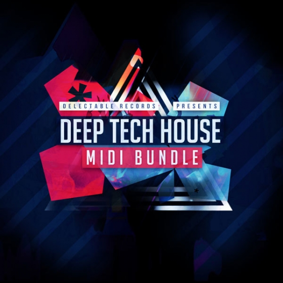 Delectable Records Deep Tech House MIDI Bundle WAV MiDi