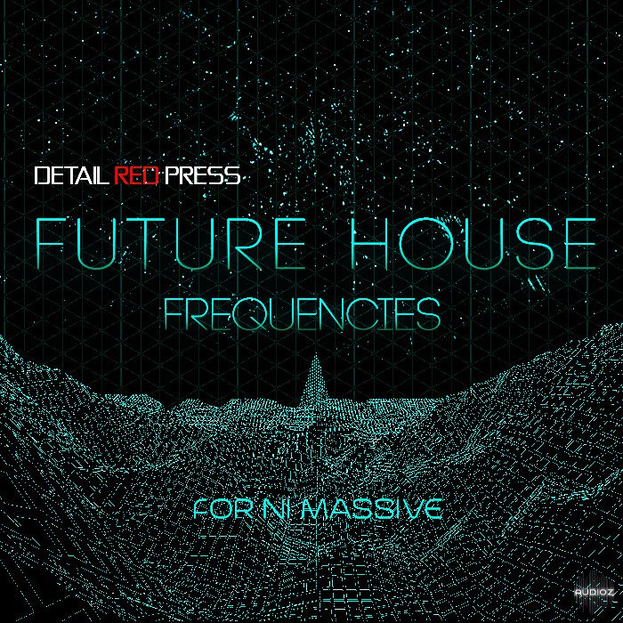 Detail Red Press Future House Frequencies