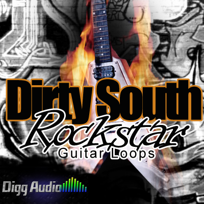 Digg Audio Dirty South Rockstar Guitar Loops ACID WAV