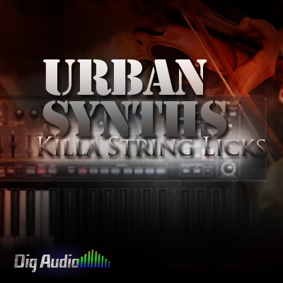 Digg Audio Urban Synths Killa String Licks MULTIFORMAT-KRock