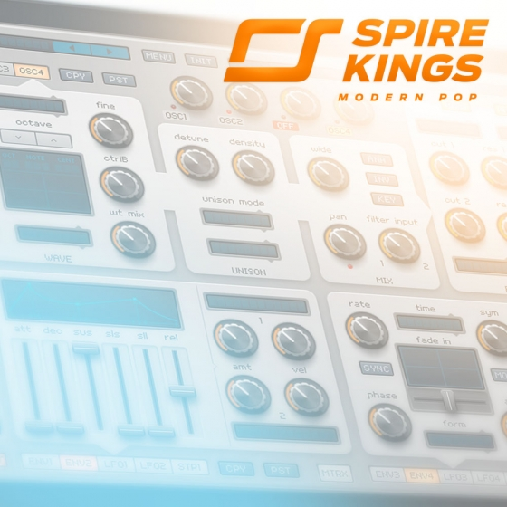 Diginoiz Spire Kings Modern Pop For REVEAL SOUND SPiRE