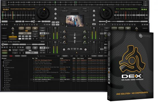 Digital 1 Audio PCDJ DEX v3.5.5 Incl.Keygen WiN/MAC-R2R