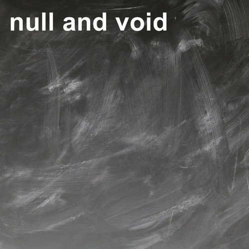 Digital Front - Null And Void [AM 2532]