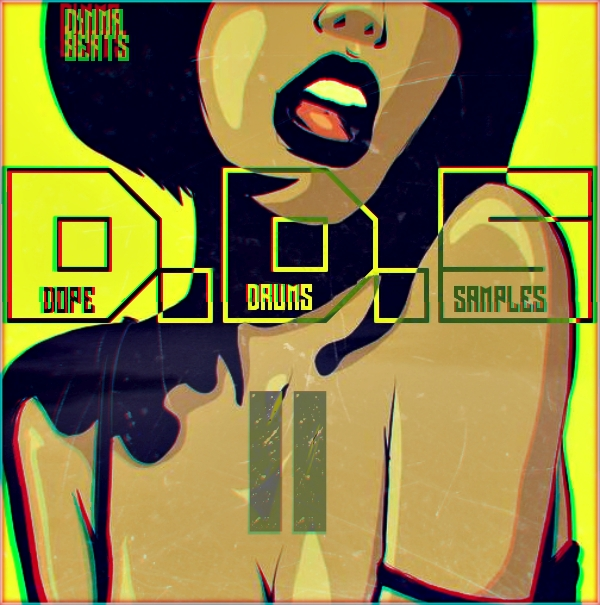 Dinma Dope Drums Samples II WAV
