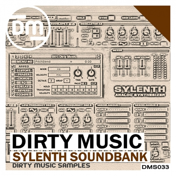 Dirty Music Sylenth SoundBank MiDi FXB FXP