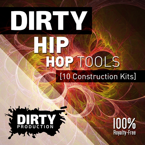 Dirty Production Dirty Hip Hop Tools WAV MiDi FL Studio Template