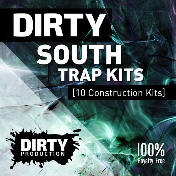 Dirty Production Dirty South Trap Kits WAV MiDi