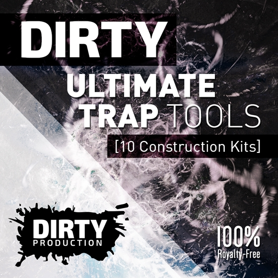 Dirty Production Dirty Ultimate Trap Tools WAV MiDi-AUDIOSTRiKE
