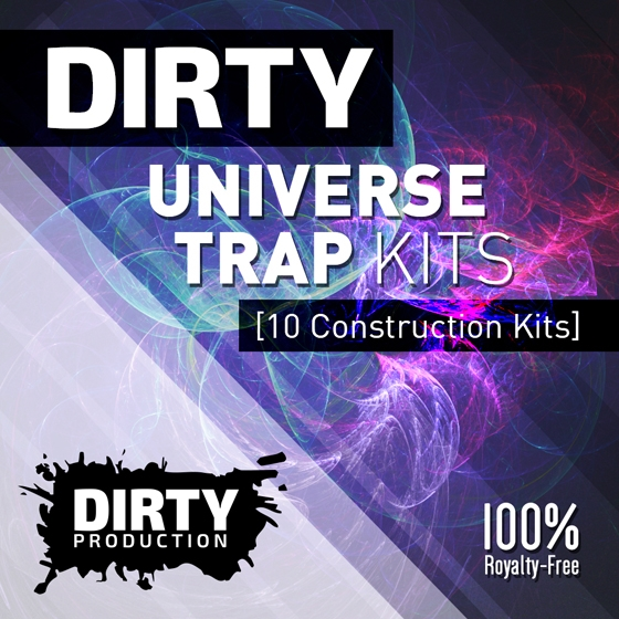 Dirty Production Dirty Universe Trap Kits WAV MiDi-AUDIOSTRiKE