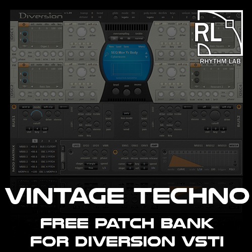 Diversion Soundset Vintage Techno