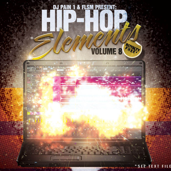 Dj Pain Hip Hop Elements Vol.8 ACID WAV