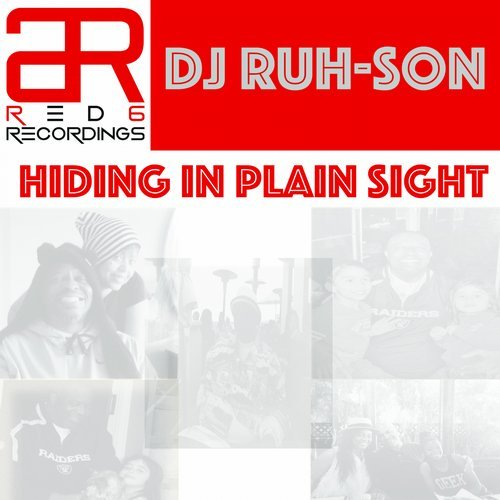 Dj Ruh-son - Hiding In Plain Sight - EP [RED607]